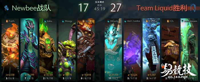 奇数年魔咒再现!TI7总决赛Liquid三比零击败NB