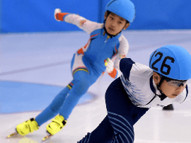 2017京津冀青少年短道速滑公开赛开赛