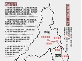 山东这3条高铁新进展!济青1小时直达 烟台3小时到北京