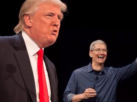 传苹果和富士康考虑投70亿美元在美国建面板厂