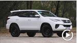 新款丰田Fortuner亮相 提供两种动力