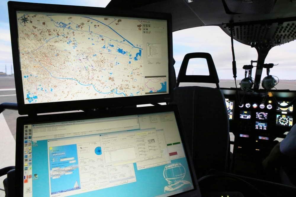 模拟机教员的控制席位