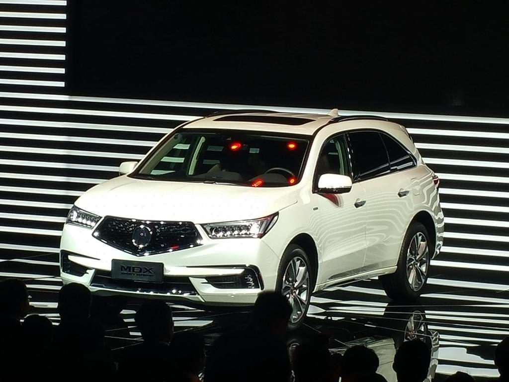 2017上海车展:新款MDX混动版公布售价