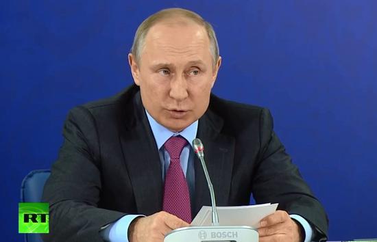 俄罗斯宣布普京将出席世界杯开幕式 观看揭幕战