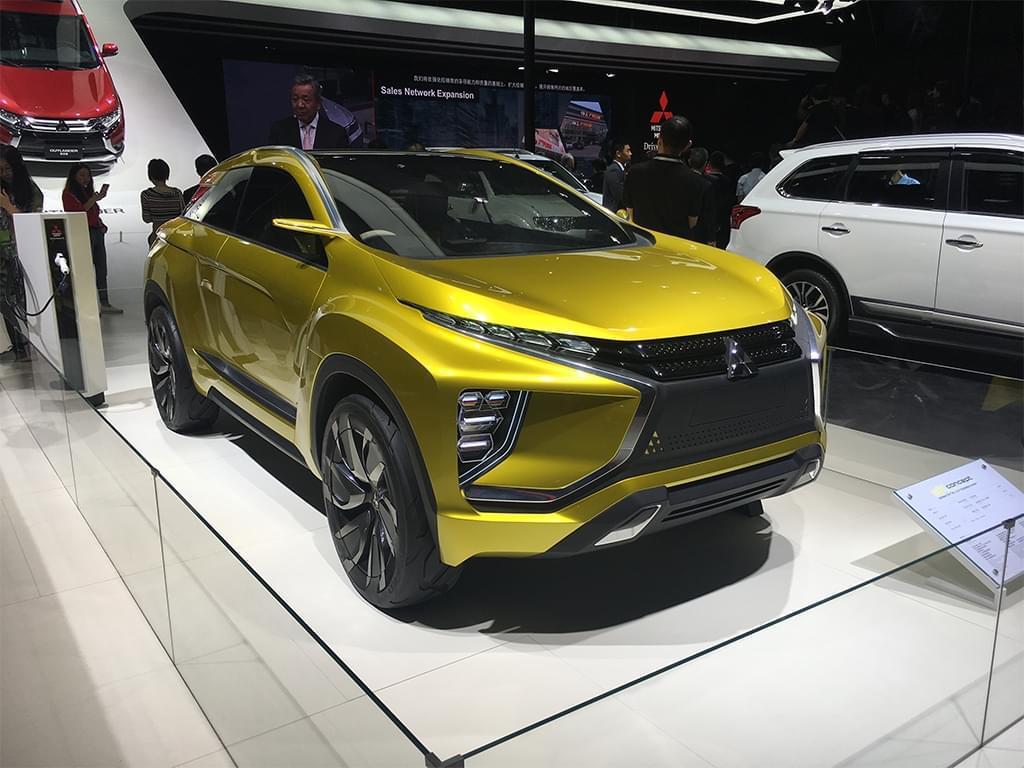 2017上海车展:三菱eX Concept国内首发