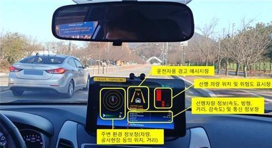 LG电子在韩国成功研发LTE自动驾驶汽车技术