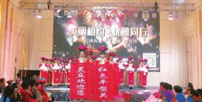 """灵丘旗袍佳丽香港T台秀家乡 捧得""""最佳优雅奖"""""""