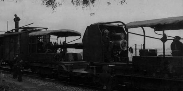 二战时意大利军队的铁道炮