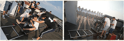 北京电影学院北京培训中 心学员实操学习照 片