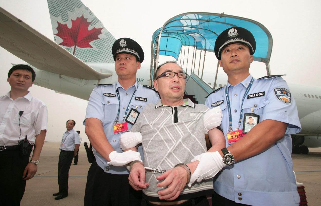2011年7月23日,赖昌星被遣返回中国。