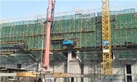 吾悦广场10月份工程进度播报
