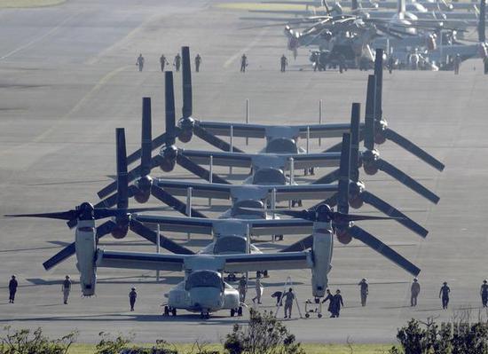 日本家长要求美战机飞行避开学校上空 美军回应