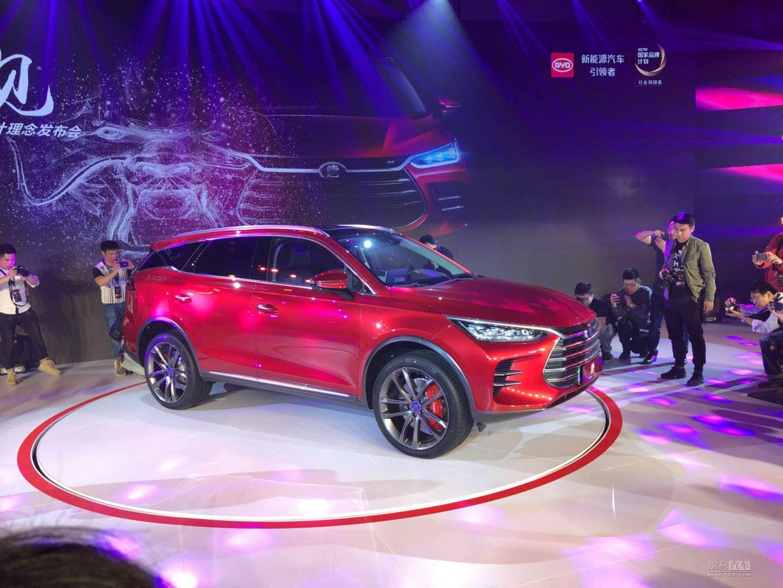 7座SUV破百4.5秒 比亚迪全新一代唐首发