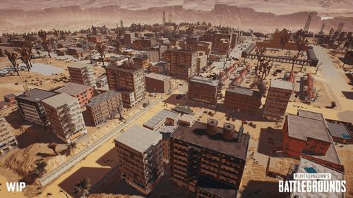 目前尚在制作中的神秘沙漠地图