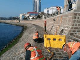 市南修复前海一线海坝 12000平方米将换新装
