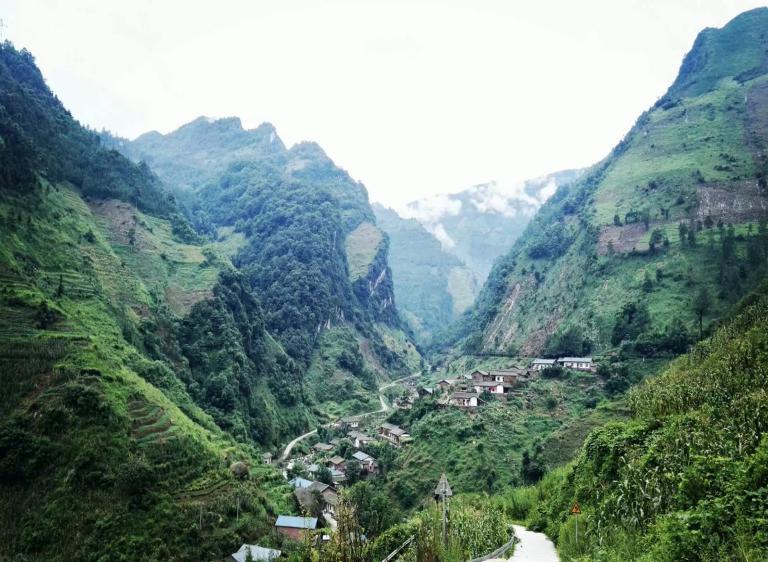 支教地——高石头村  作者供图