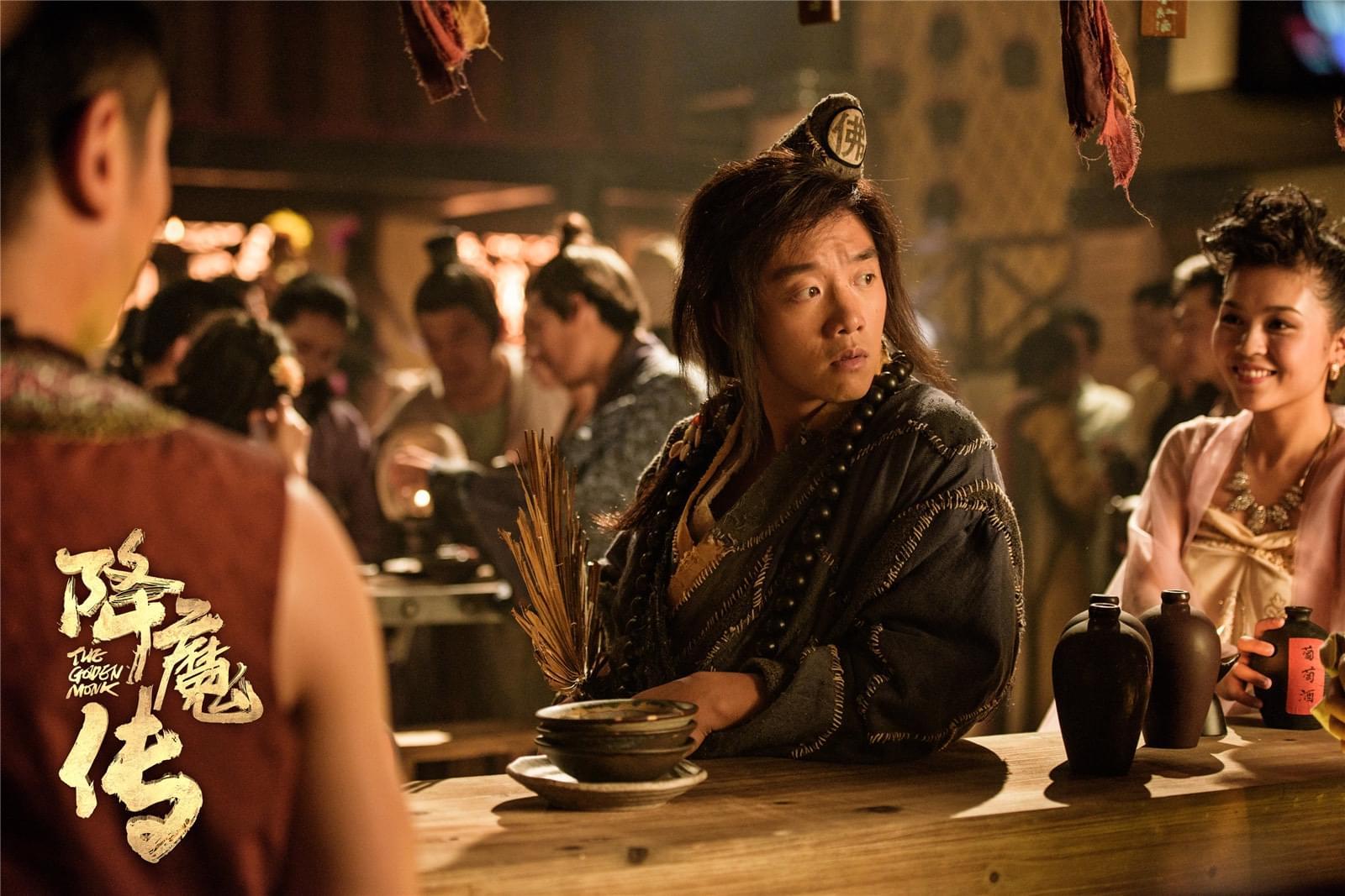 电影《降魔传》预售成绩亮眼 想看指数超过十万