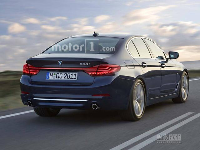 小5系?新一代宝马3系将于巴黎车展发布