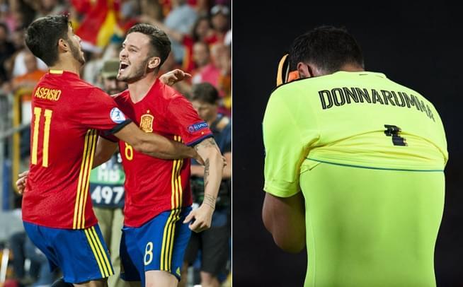 欧青赛-西班牙3-1意大利 晋级决赛