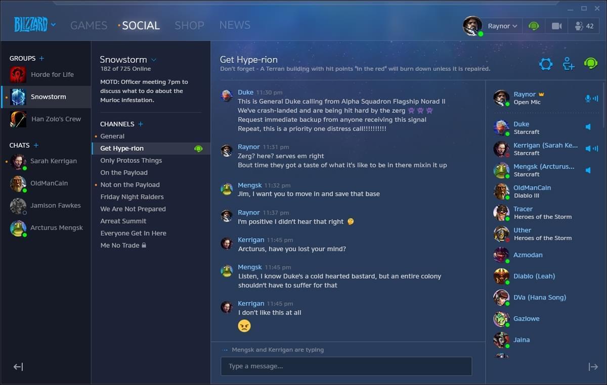暴雪战网客户端众多新功能公布 隐身功能将上线