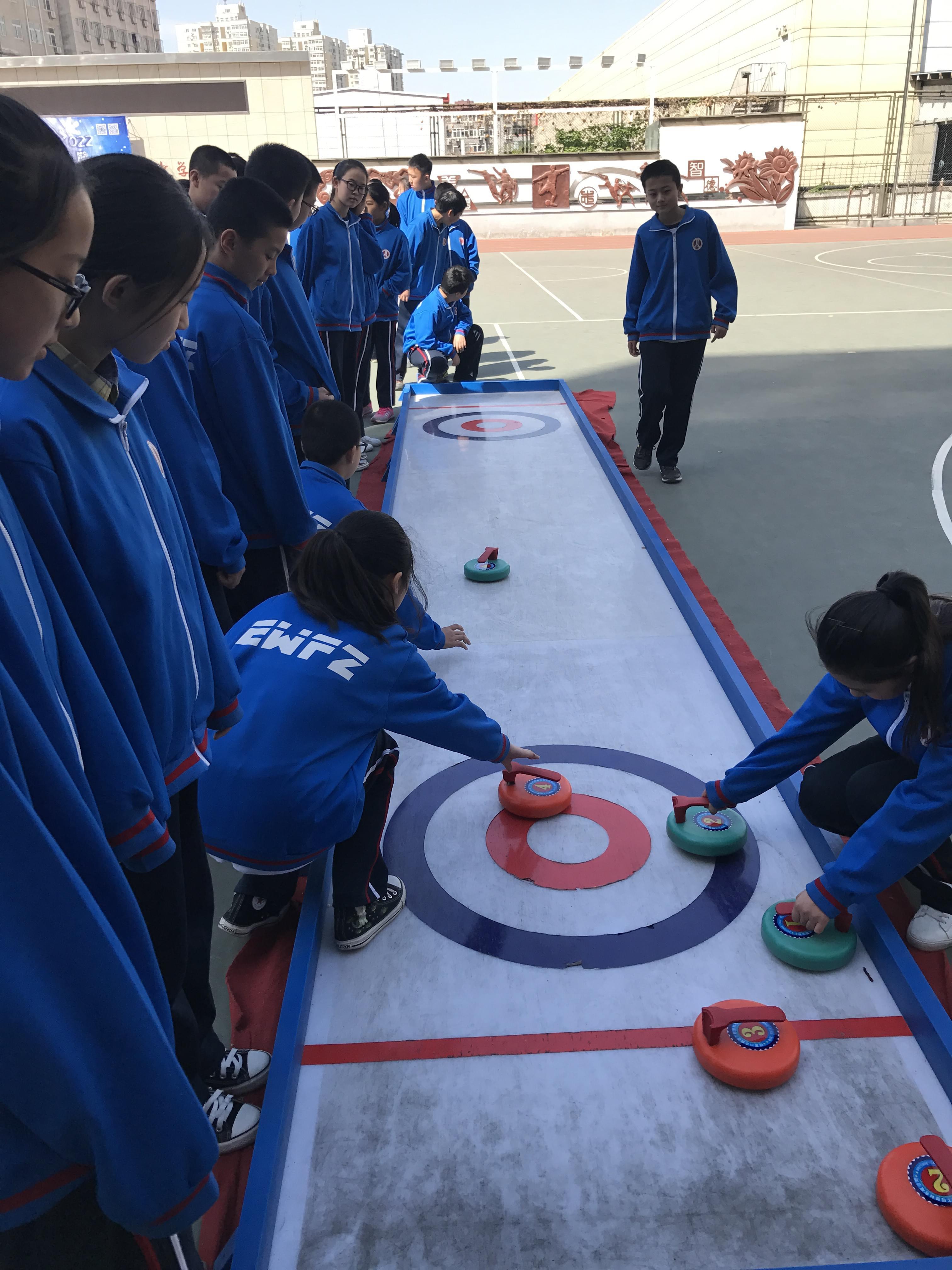 凌渡冰雪课堂吹响集结号 进驻北京二外附中
