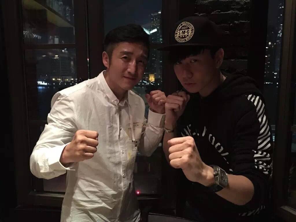 林俊杰助阵邹市明卫冕战 网友:唱《K-O》嘛