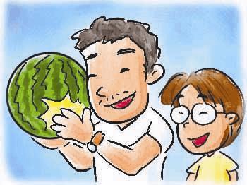 长成啥样的西瓜最甜 闻喜专家教你咋挑西瓜