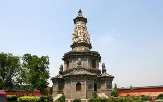古城遗珠华塔寺