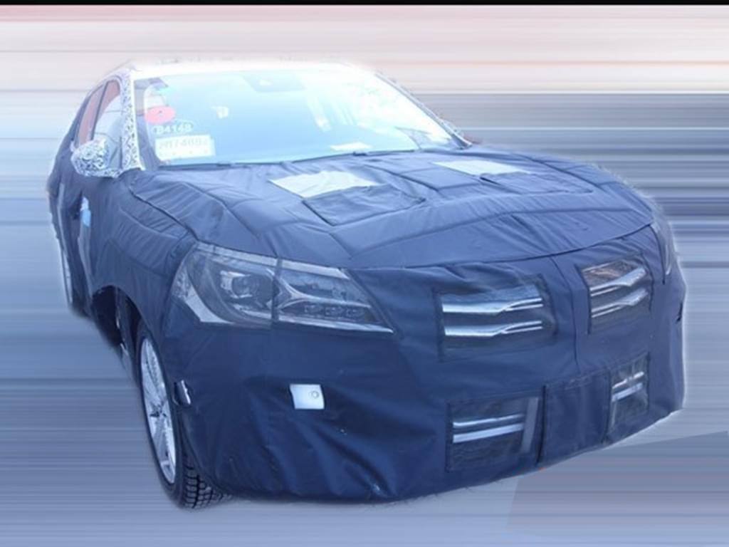 延续概念车造型 荣威Vision-E量产版谍照