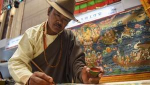 西藏唐卡成收藏家新宠
