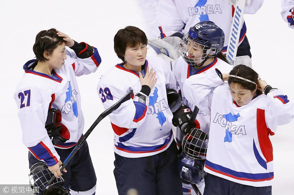 0-8!朝韩女子冰球联队连续2场被吊打 瑞士3-1日本