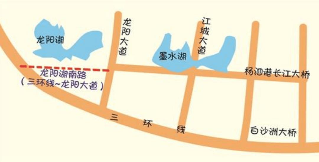 杨泗港快速通道将向西延伸
