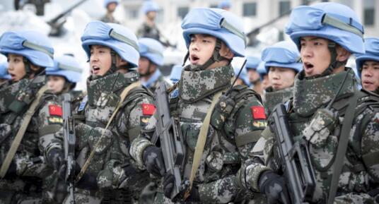 维和步兵营花絮照片