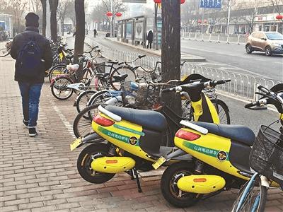 北京交管紧急叫停共享电动单车:不符合上牌标准