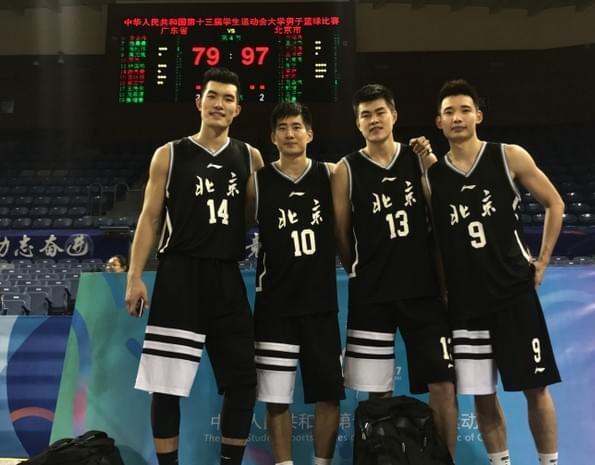CBA状元率北京队夺学运会金牌 郭凯:大学生涯圆满