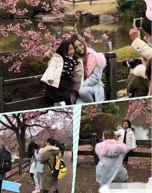 李小璐带女儿游日本不见贾乃亮甜馨愈发漂亮