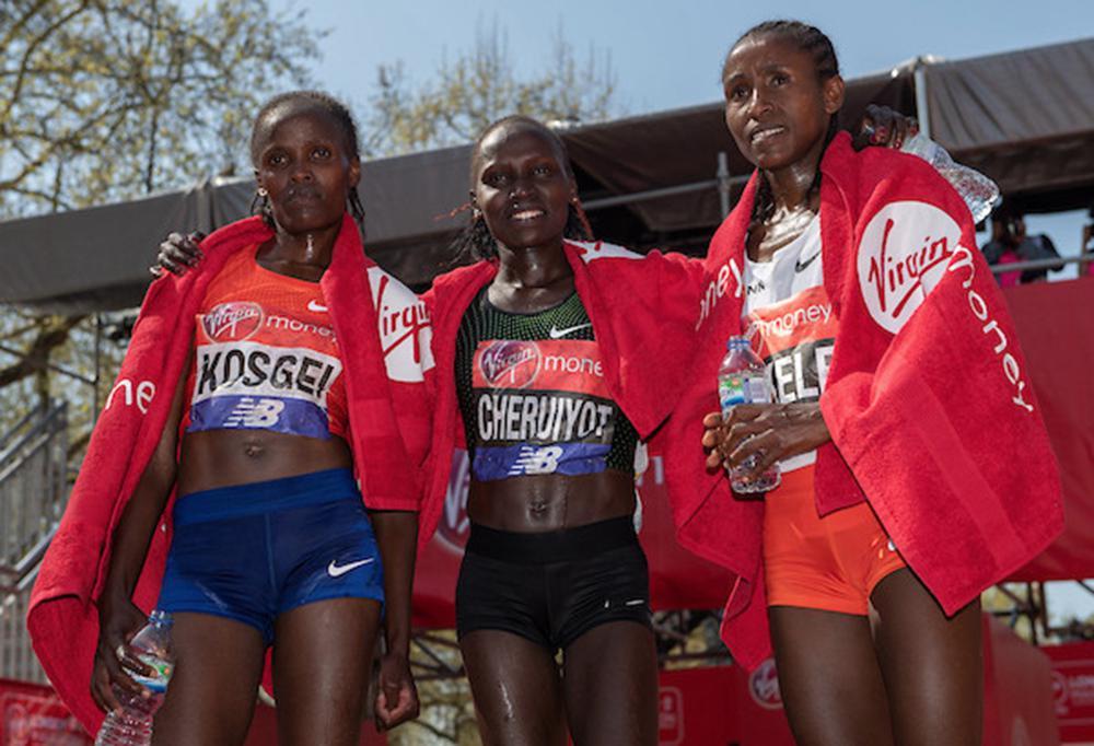 2018伦敦马拉松 运动品牌的角逐盛宴