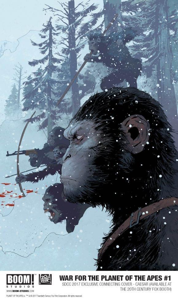 《猩球崛起3》变体封面亮相漫展  引发粉丝追捧
