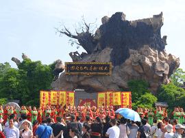 洪洞大槐树景区开展中国旅游日主题宣传活动