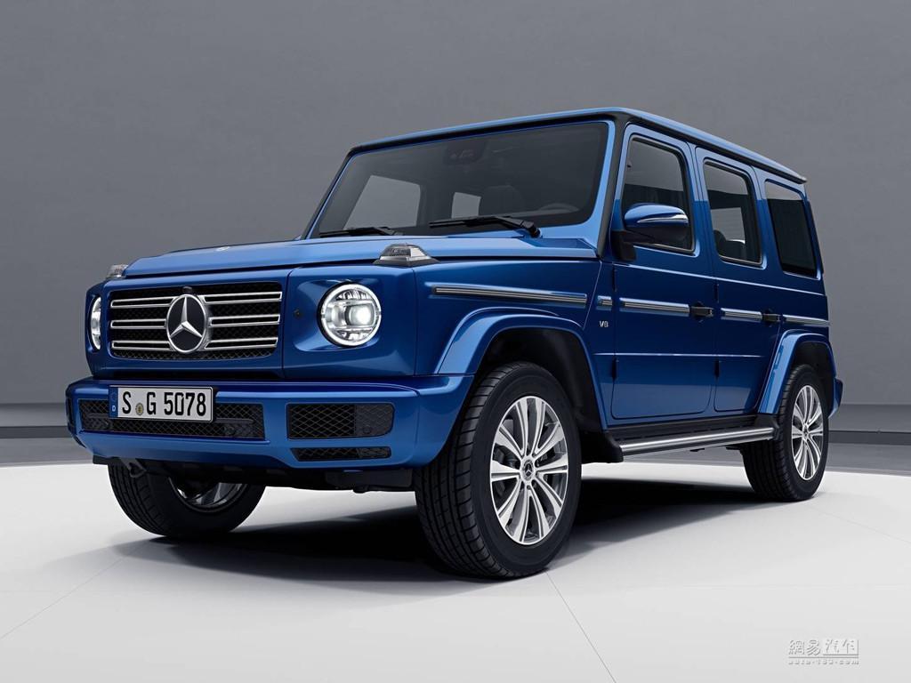 主要是换了车漆 全新G级新套件版车型官图