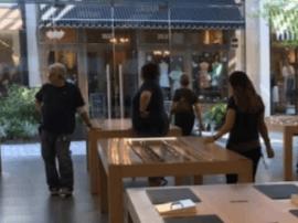 苹果也很绝望啊:又一家苹果零售店被抢