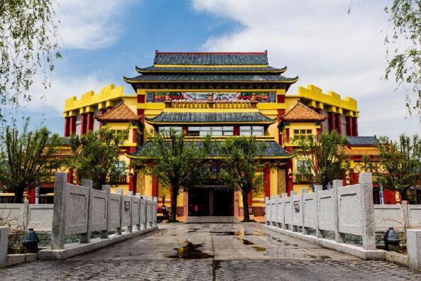 华夏历史文化科技园明年3月开园 高清效果图曝光