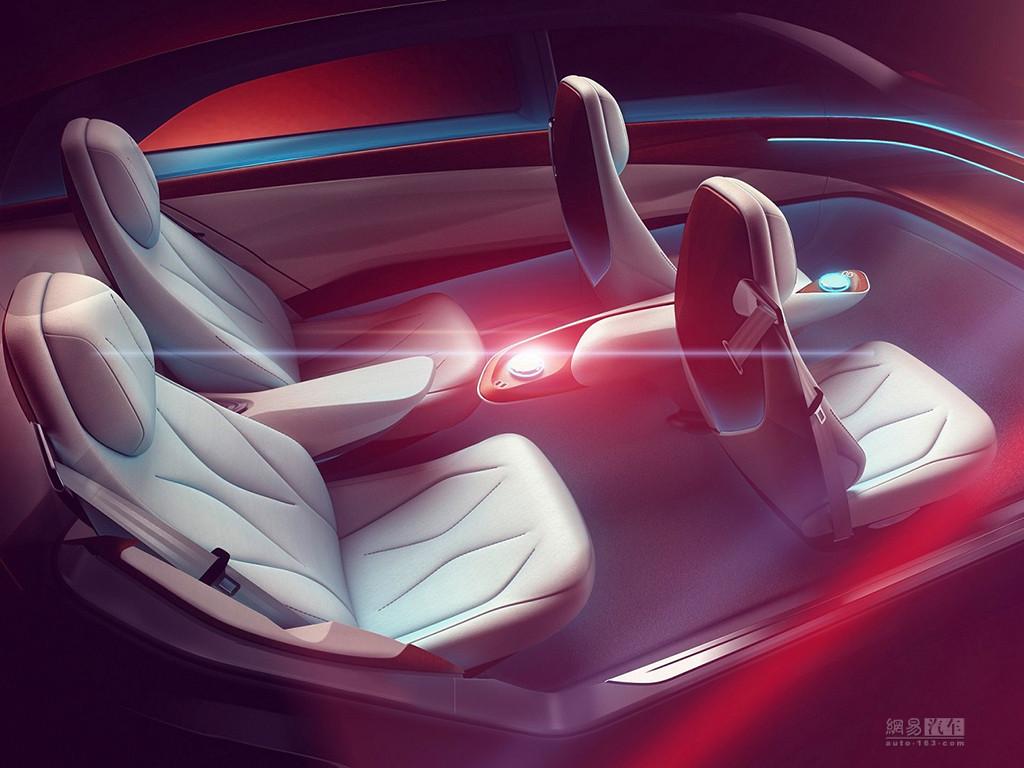 日内瓦车展首发 大众将推出I.D. VIZZION