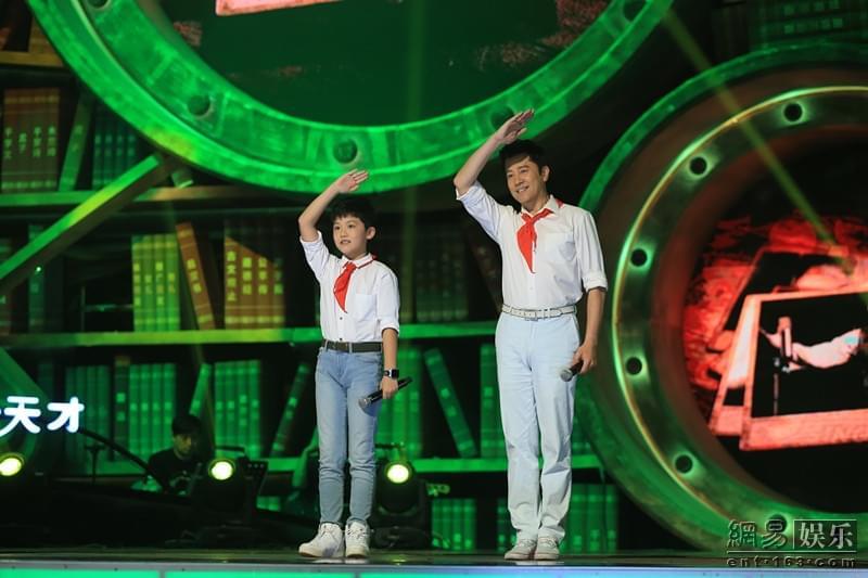 李谷一指导蔡国庆陈俊析合唱《我和我的祖国》