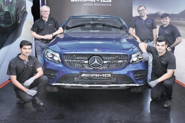 奔驰2017印度销量增长15.9% 夺印度豪车市场冠军