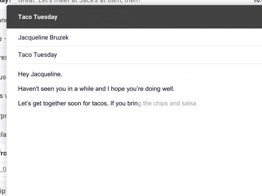 看谷歌Gmail用人工智能撰写邮件
