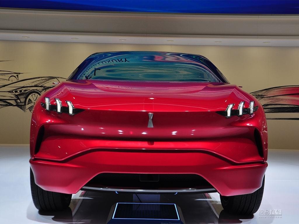 造型很夸张 WEY XEV概念车法兰克福亮相