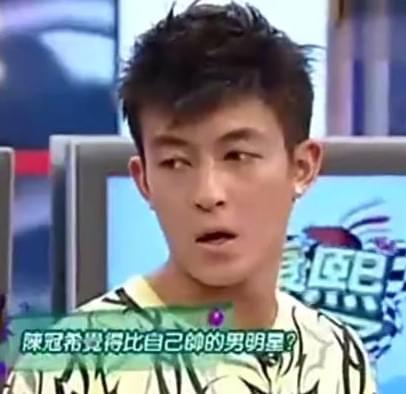 陈冠希曾说只有2位男星比他帅 还这么评余文乐