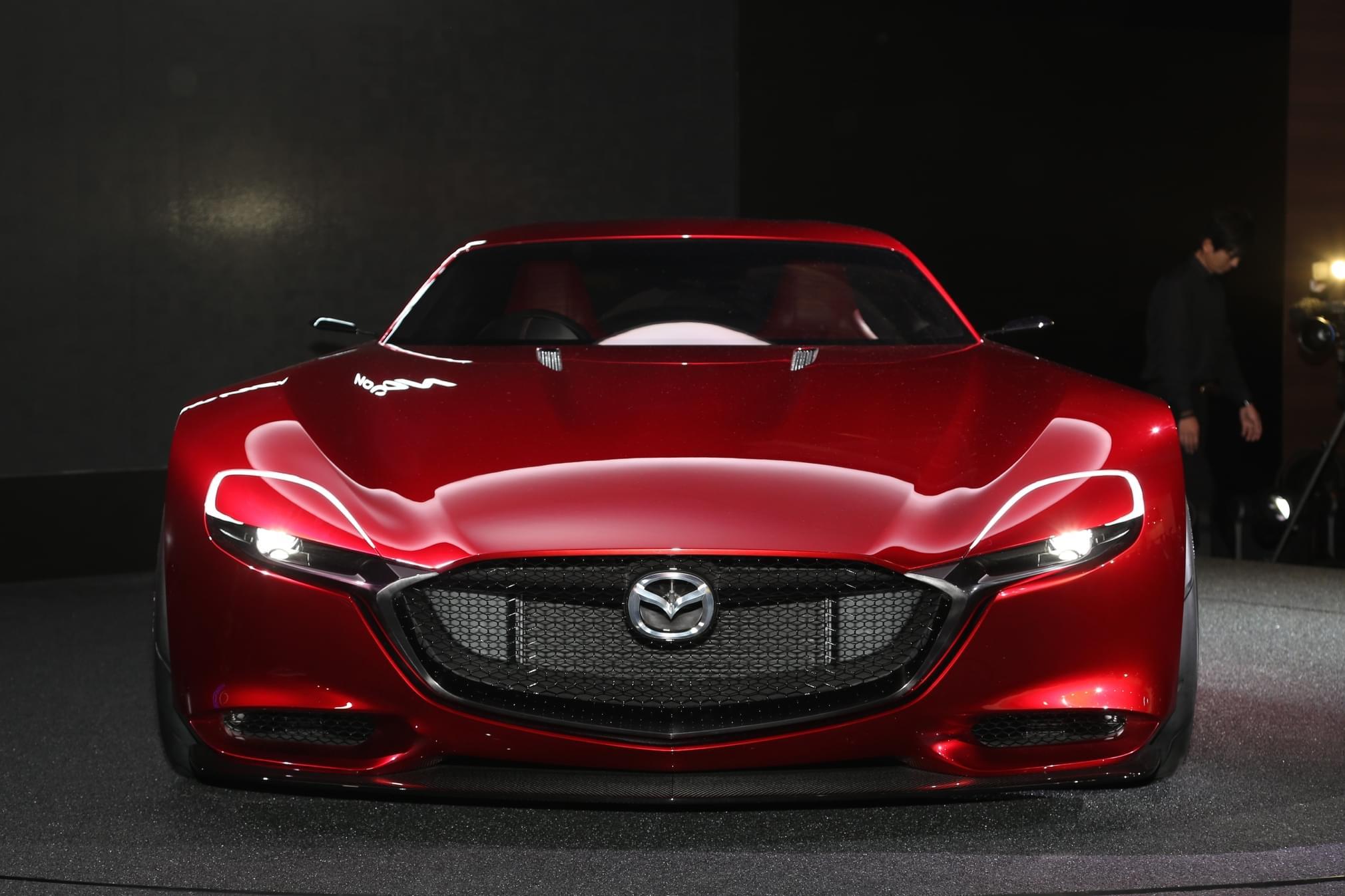 马自达将推下一代转子发动机概念车
