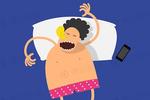 睡觉睡一半突然抖一下怎么回事?